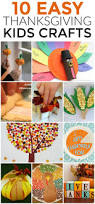 10 easy thanksgiving kids crafts