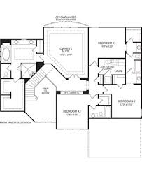 Mount Vernon Floor Plan 8991 Oakcrest Way Mount Vernon West Chester Ohio By Drees Homes