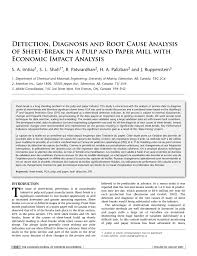 Machine Downtime Spreadsheet Detection Diagnosis And Root Cause Analysis Of Sheet U2010break In A