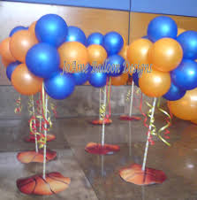 basketball centerpieces centerpiece joaine balloon designs page 2
