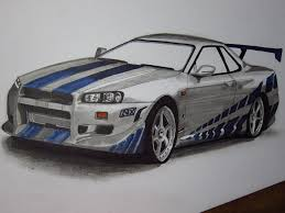 skyline nissan 2015 nissan skyline r34 gtr paul walker by v3110z on deviantart