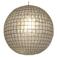 Capiz Vase Capiz Shell Globe For Sale At 1stdibs
