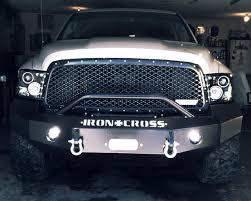 dodge ram push bumper iron cross 22 625 10 front bumper with push bar dodge ram 2500