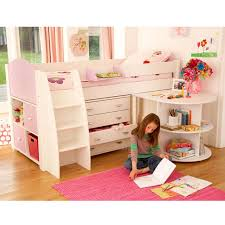 Girls Loft Bed With Desk Best 25 Girls Cabin Bed Ideas On Pinterest Cabin Beds For Girls