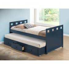 Boys Twin Bed With Trundle Bedroom Captain Bed With Trundle Captains Bed Twin With Drawers