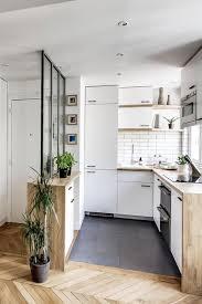 entre cuisine créer une séparation entre cuisine et salon deco cuisine salon 30m2