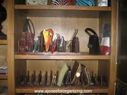 a jones for organizing storing your clutch purses a jones for