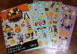 halloween sticker books steelers