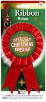 amazon com forum novelties women u0027s award ribbon for ugliest