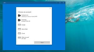 Hotmail Business Email Account by How To Add Or Delete An Email Account To Windows 10 Mail Tech