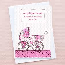 baby pram u0027 new baby card by jenny arnott cards u0026 gifts