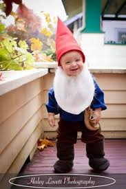 Gnome Halloween Costume Baby Awesome Costume Man Yellow Hat Toddler Halloween