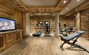 home gym interior design chalet edelweiss courchevel 13 idesignarch interior design