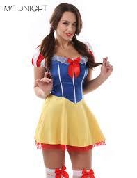 Snow White Halloween Costume Women Aliexpress Buy Moonight Size Snow White Costume