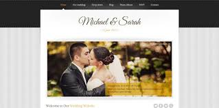 wedding web 20 html wedding website templates code geekz