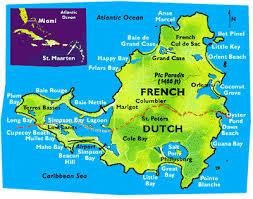 map of st martin st martin map