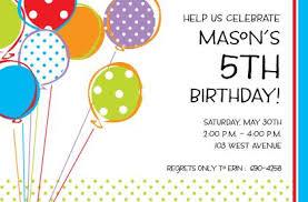 kids birthday party invitations ideas choice image invitation