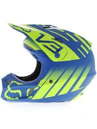 fox motocross helmet fox azul anaheim amarelo 1 edição limitada v3 mx helmet fox