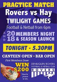 Seeking Yorumlar Deniliquin Rovers Football Netball Club Sayfa