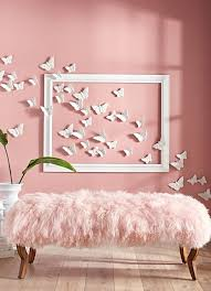 sweet ideas pink wall decor decoration