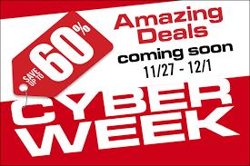 great deals ahead celebrate cyber week 2017 with ticketsatwork