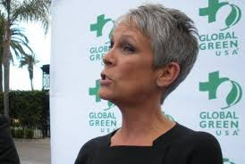 jamie lee curtis haircut back view ruffalo honored for anti fracking begley crowned king for