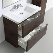 Bali Bathroom Furniture Zenith Bali Chestnut Vanity Unit 900mm Floor Standing Vanity