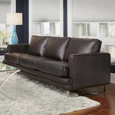 Natuzzi Brown Leather Sofa Natuzzi Leather Sofa Wayfair