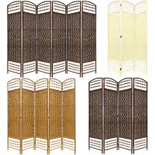 Wicker Room Divider Home Decor Made Wicker Room Divider Separator Privacy Screen