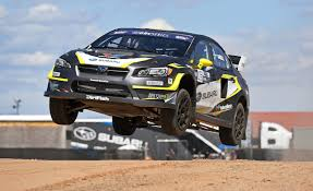 rally subaru subaru wrx sti global rallycross car first drive review car