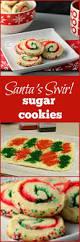 santa u0027s swirl sugar cookies swirl sugar cookies easy holiday
