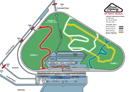 track rental pocono raceway road course map