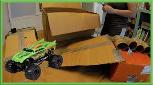 Homemade Toy Box by Homemade Toy Monster Truck Arena Youtube