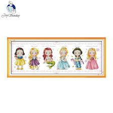 Cross For Home Decor Online Get Cheap Princess Cross Stitch Kits Aliexpress Com