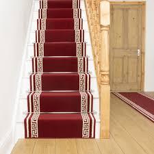 Rug Runner For Stairs Key Red Stair Carpet Runner For Narrow Staircase Modern Quality