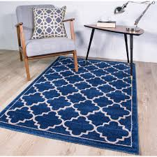 blue trellis rug rugs decoration