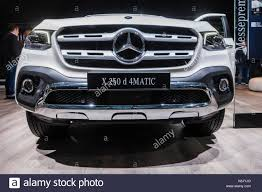 mercedes pickup 2017 mercedes benz x 250 d 4matic pick up truck at iaa 2017 car stock
