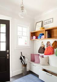 furnitures entryway decor with white entryway storage also