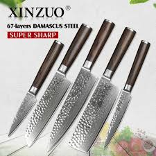 high carbon stainless steel kitchen knives xinzuo 4 pcs kitchen knife sets china 67 layers high carbon