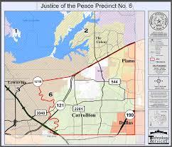 Frisco Texas Map Precinct 6 Map Denton County Texas