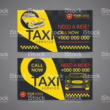 taxi pickup service business card layout template create your own