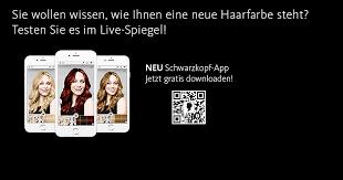 Frisuren Anleitung App by Frisuren Testen Mit Schwarzkopf App Dm Shop