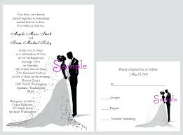 wedding cards for and groom wedding invitations with pictures of and groom and
