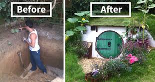 How To Design Your Backyard How To Build A Hobbit House In Your Backyard House And Garden Shop