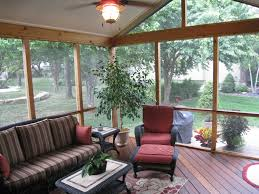 Decorating Screened Porch Three Key Ingredients In This Overland Park Screened Porch