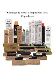catalogo de toner compatibles para copiadoras 1