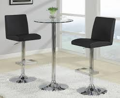 kitchen bar stool and table set amusing chicago discounted modern bar table and stools in