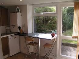 Glass Breakfast Bar Table Kitchen Window Breakfast Bar Kitchen Normabudden Com