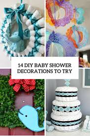 Baby Shower Centerpieces by 14 Cutest Diy Baby Shower Decorations To Try Shelterness