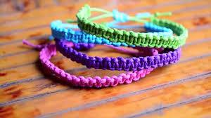 cobra knot bracelet images Diy stackable square knot cobra stitch bracelet english jpg